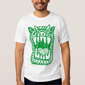 Scary Monster - Grass Green T-shirt