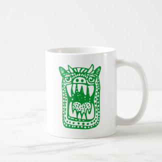 Scary Monster - Green Coffee Mug