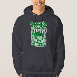 Scary Monster - Green Hoodies