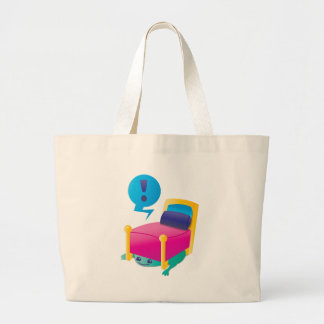 SCARY monster lurking under the BED Tote Bag
