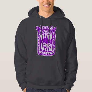 Scary Monster - Purple Hoodie