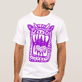 Scary Monster - Purple T-Shirt