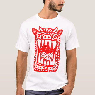 Scary Monster - Red T-Shirt