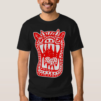 Scary Monster - Red T Shirt