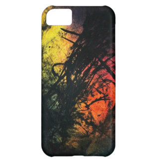 Scary Monsters Urban Abstract Ink Art Cover For iPhone 5C