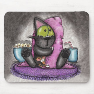 Scary Movie -Cat and Mouse Mouse Pad