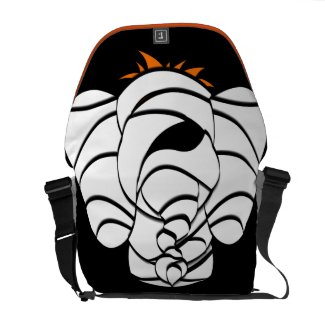 Scary Mummy Lucky Pinkie Elephant Halloween Bag