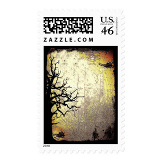 Scary Night Postage