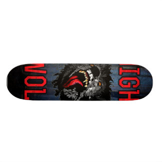Scary Night Wolf Skateboard