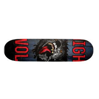 Scary Night Wolf Skateboard