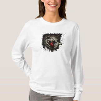 Scary Night Wolf T-Shirt