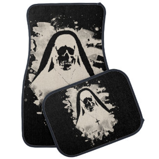 Scary now - cream white car mat