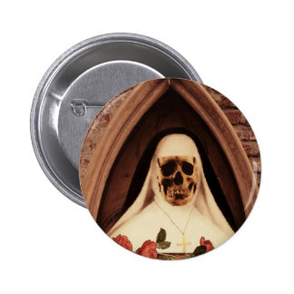 Scary now pinback button