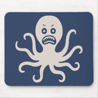 Scary Octopus Mouse Pad