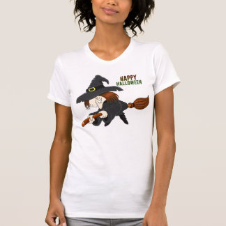 Scary Old Witch T Shirt
