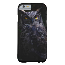 Scary owl Halloween Barely There iPhone 6 Case