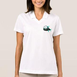 Scary Piranha Polo Shirt