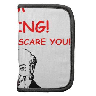 scary organizer