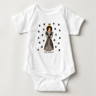 Scary Princess Baby Bodysuit