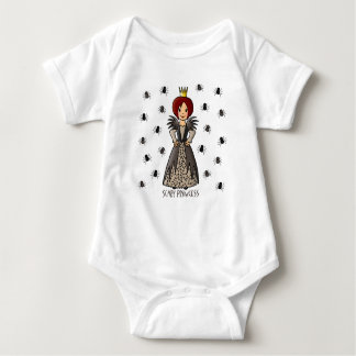 Scary Princess Baby Bodysuit