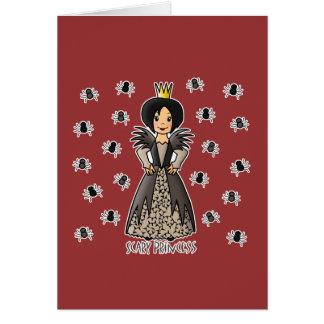 Scary Princess Greeting Cards