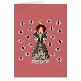 Scary Princess Cards