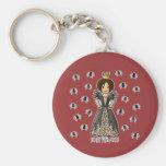 Scary Princess Keychain