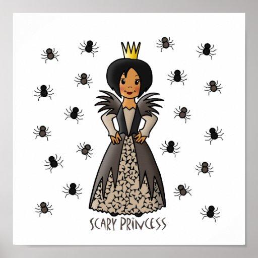 Scary Princess Poster