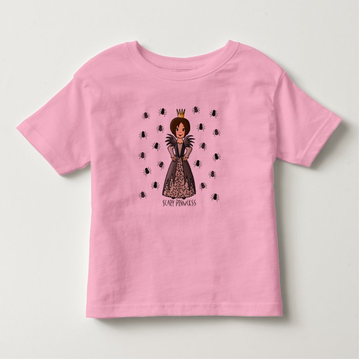Scary Princess Toddler T-shirt
