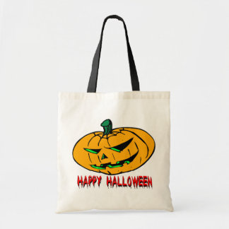 Scary Pumpkin Halloween Bags
