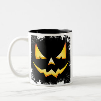 Scary Pumpkin Halloween Coffee Mug