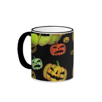 Scary Pumpkin Halloween Mug