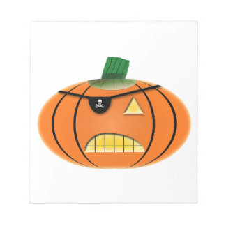 Scary Pumpkin Note Pad