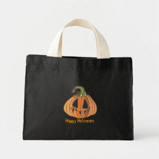 Scary Pumpkin Trick or Treat Bag