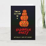 Scary Pumpkins Card