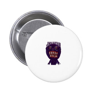 Scary Purple Monster Buttons