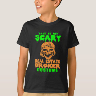 Scary Real Estate Broker Halloween Costume T-Shirt