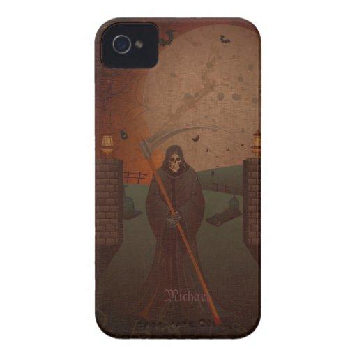 Scary reaper Walking Dead  iPhone 4 Case