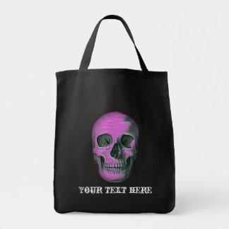 Scary Scull Tote Bag