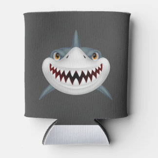 Scary Shark Can Cooler