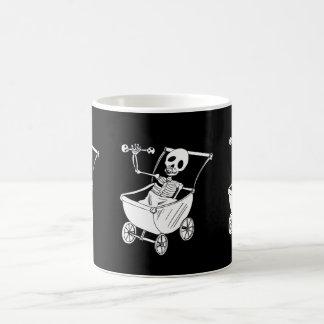 Scary Skeleton Baby Shower Mugs