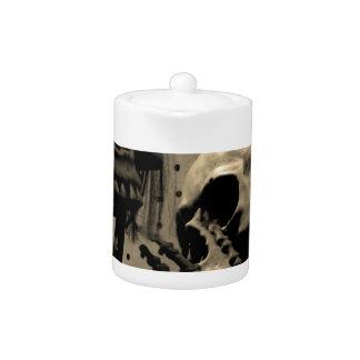 Scary Skeleton Items Teapot
