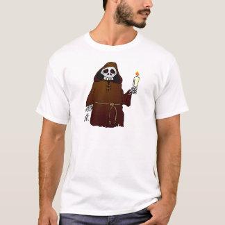 Scary Skeleton Monk T-Shirt
