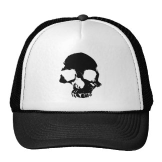Scary skull cool gothic trucker hat