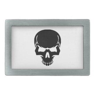 Scary skull face belt buckles