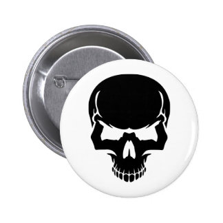 Scary skull face buttons