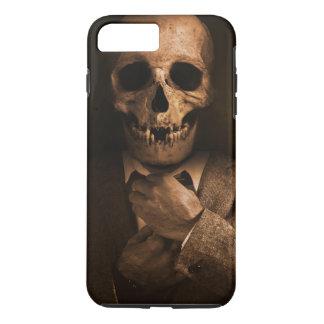 Scary Skull Man in Suit iPhone 8 Plus/7 Plus Case
