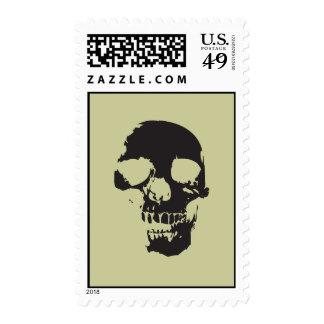 Scary Skull Stamp