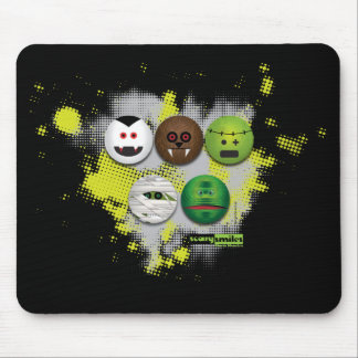 Scary Smiles - Classic Monsters Mouse Pad