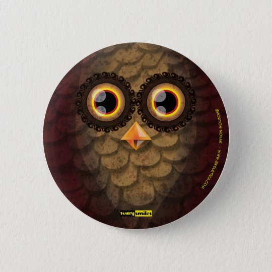 Scary Smiles -  The Owl Pinback Button